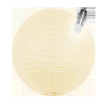 40 cm Lampion BEIGE...